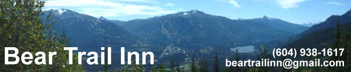 Whistler Bed and Breakfast Accommodations - Bear Trail Inn Chalet B&B